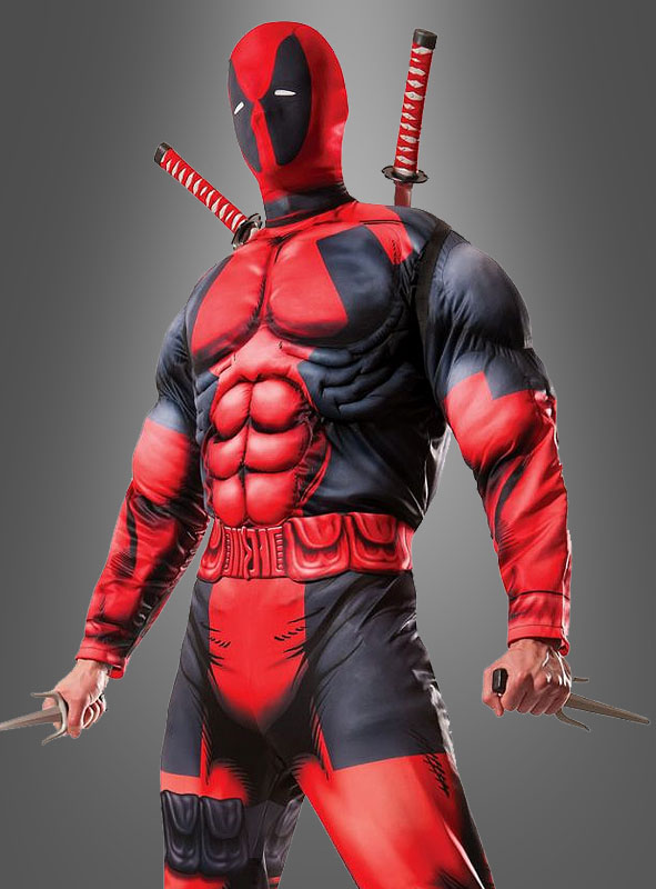 deadpool kostuem fuer herren superhelden kostuem erwachsene top