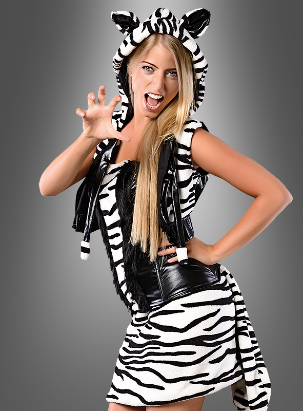 Des affiches pour pour pour des cadeaux, des coins coupés à envoyer! Joyeux Noël! Sexy Deluxe Tigre tailleur tierkostüm Noir Blanc Costume Carnaval 1d4992