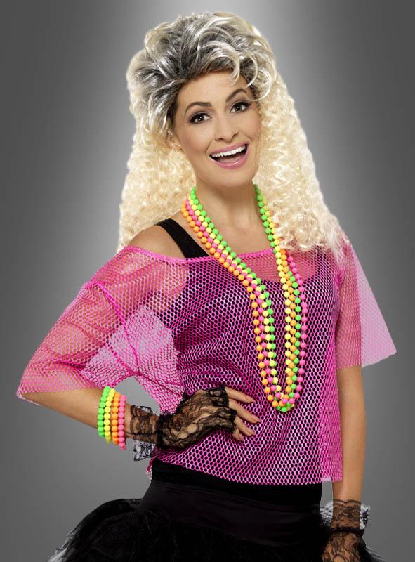 Netzshirt-Neonfarben-80er-Jahre-Outfit-Karnevalskostuem-Mottoparty-Oberteil