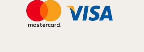 MasterCard und Visa Logos