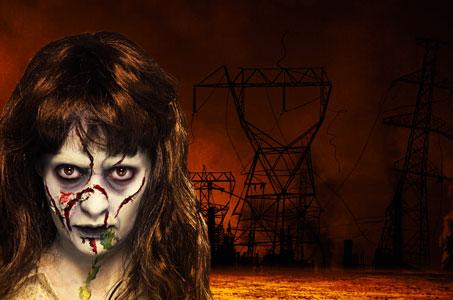 Zombie-Kostüme für die Gruselparty