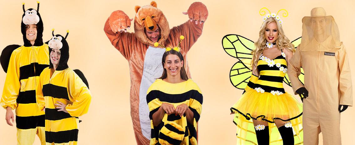 Biene als Paarkostüm
