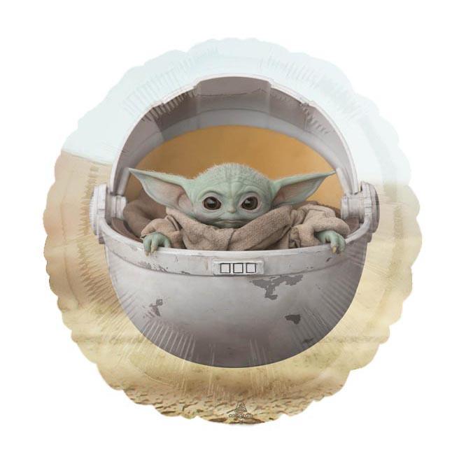 Baby Yoda bedruckter Folienballon