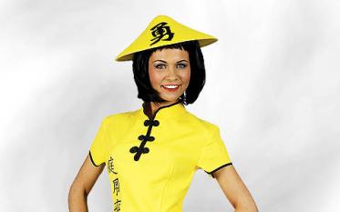 Geisha & asiatische Kostüme