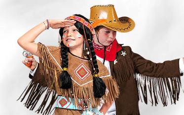 Cowboy & Indianerkostüme