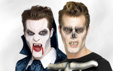 Falsche Zähne, Vampir & Gebiss