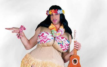 Hawaii Kleidung & Blumen