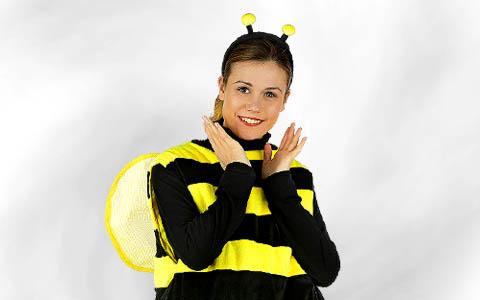 Bienenkostüme
