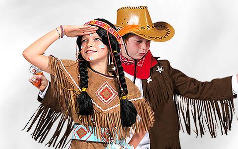 Cowboy & American Indian Costumes
