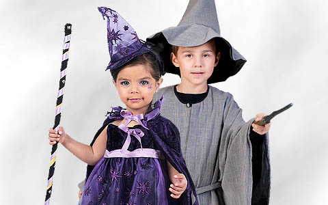 Witches & Wizards Costumes