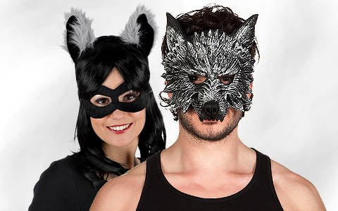 Tiermasken, Nasen & Ohren
