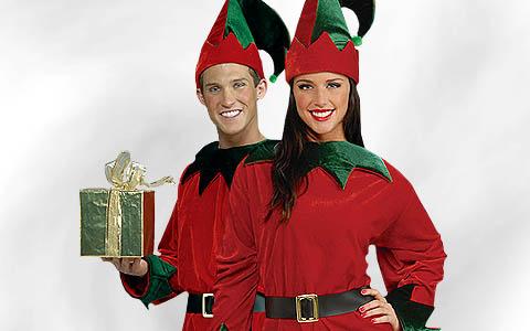 Weihnachtselfen Kostüme