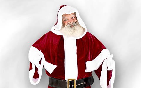 Weihnachtsmann Mantel