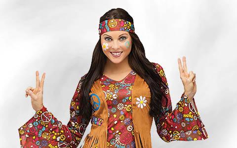 60er 70er Hippie Kostüme