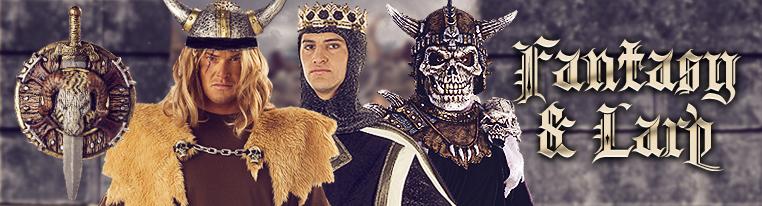 Fantasy Larp Kostüme für Karneval Fasching und Mottoparty