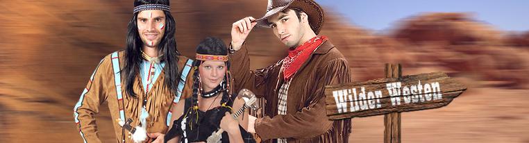 Cowboy Outfit Und Indianer Kostüme Von Kostümpalastde