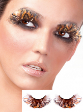 Tigers Eye Feather Eye Lashes