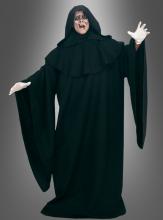 DELUXE schwarze Robe  XXL mit Kapuze