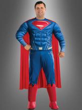 Superman Costume Plus Size Justice League