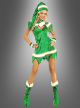 Sexy Green Elf Costume