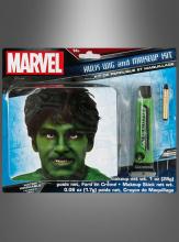 Hulk Wig and Makeup Kit