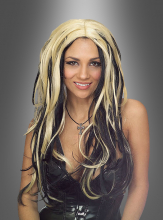 Shake it wig blond and black