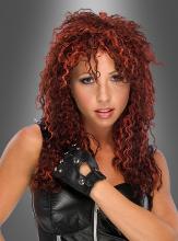 U-Rock wig red