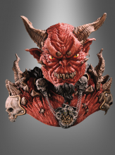Deluxe El Diablo mask and shoulders