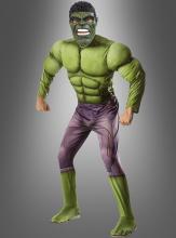 Hulk Muskelkostüm Erwachsene