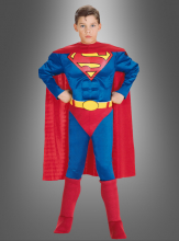 Boy Deluxe Muscle Chest Superman