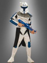 Captain Rex Kostüm für Kinder Clone Wars