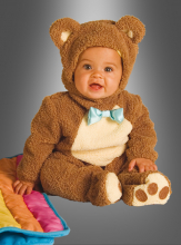 Oatmeal Bear Teddy Costume Noa