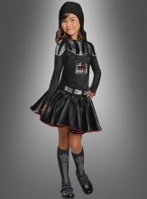 Darth Vader Mädchenkostüm