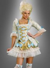 Sexy Lady aus Versailles Barockkostüm