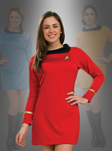 STAR TREK Uniform Classic Dress red