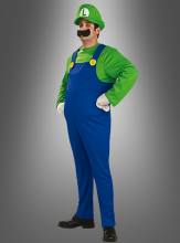 Deluxe Super Luigi adult costume