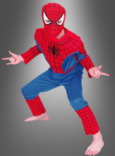 Spiderman Muscle Chest Children costume