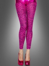 Leopard Leggings pink