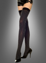 Vertical pin striped Thigh Hig