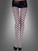 Tights  Black-White