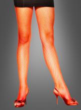 Netzstrumpfhose feinmaschig rot