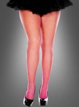 XXL Netzstrumphose pink