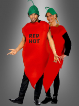 red hot chili pepper costume