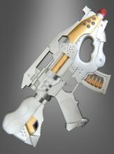 Galaktische Maschinenpistole mit Licht und Sound