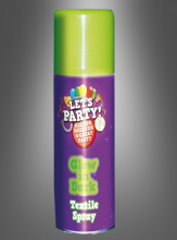 Glow in the Dark Textile Spray neon green
