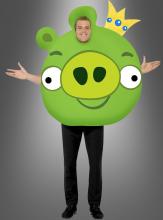 Angry Birds Kostüm King Pig XXXL