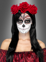 Day of the Dead Haarschmuck Rosen
