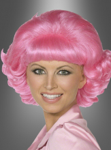 Frenchy Perücke Pink Ladies Grease