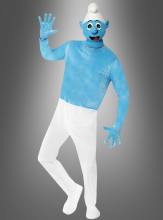 Deluxe Smurf Adult costume