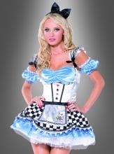 Sexy Alice im Wunderland Kostüm